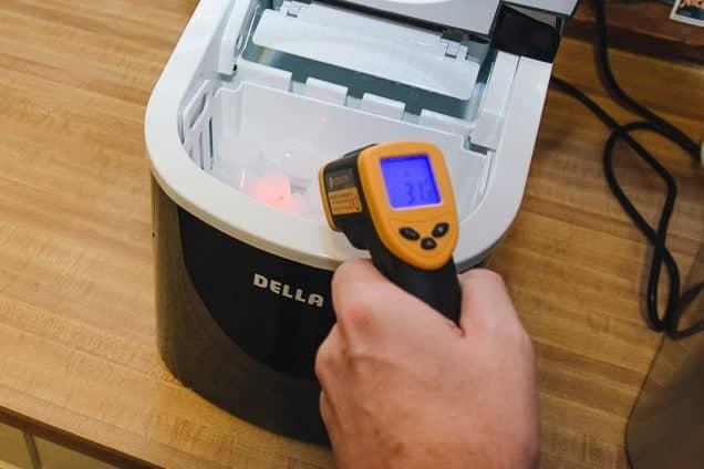 température machine à glaçon