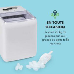 klarstein coolio-machine-glacon-